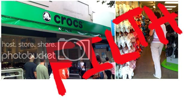 The Unfortunate Grand Opening of Crocs